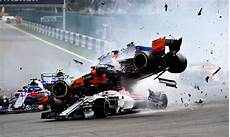 F1 Race - f1 drivers walk away from scary crash in belgium