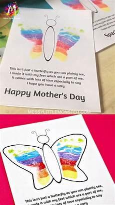 s day printable cards and poems 20492 footprint butterfly poem printable s day card mothers day poems mothers day crafts
