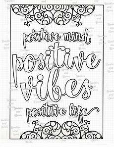mandala coloring pages with quotes 17979 positive printable mandala coloring page digital by sewlacee lds coloring pages mandala