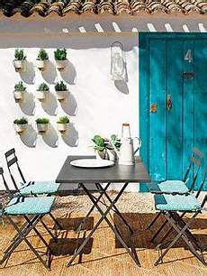 beispiele für terrassengestaltung mediterraner garten terrasse sonnenschutz essbereich