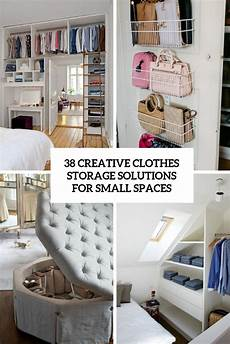 creative storage solutions for small spaces 38 creative clothes storage solutions for small spaces