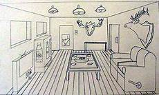 one point perspective room interiors middle school art lesson projects to try