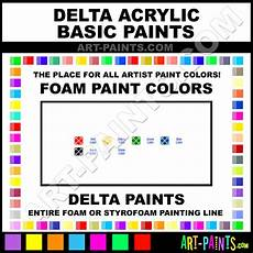 black acrylic basic foam and styrofoam paints 109705 black paint black color delta acrylic