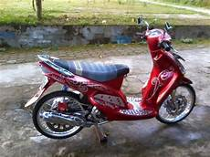 Mio J Babylook by Modifikasi Motor Mio Gt Simple Berputar Roda