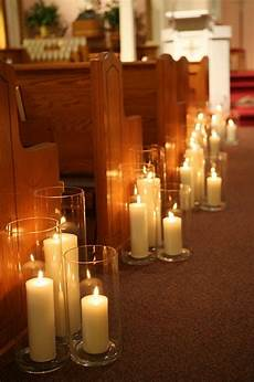 decorating weddings with candles