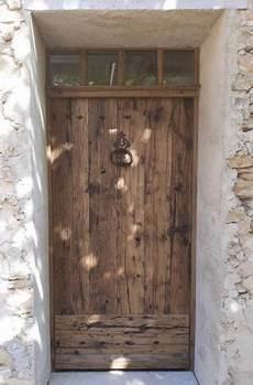 porte entrée bois occasion front doors portes antiques