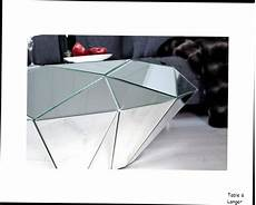 table basse miroir table basse design table basse miroir diamant facette