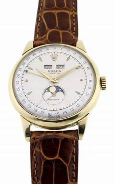 rolex padellone ref 8171 in 18ct gold moonphase