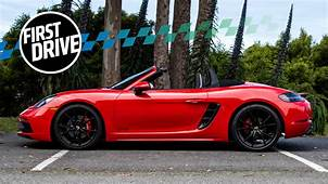 The 2018 Porsche 718 Cayman And Boxster GTS Feel Like Baby