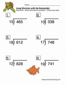free math worksheets division no remainders 6861 division no remainder worksheet 4