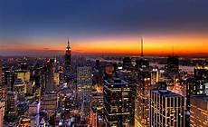 new york city wallpaper pc nyc new york city skyline sunset wallpaper background