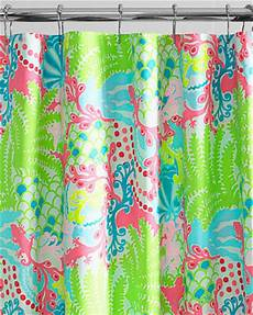Pulitzer Shower Curtain lilly pulitzer florals shower curtain checking in