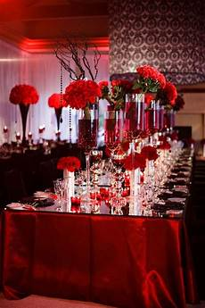 red wedding table settings epic image of dining room decoration with various black and white