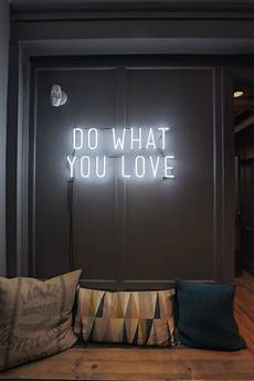 do what you love neon light sign the office walls in