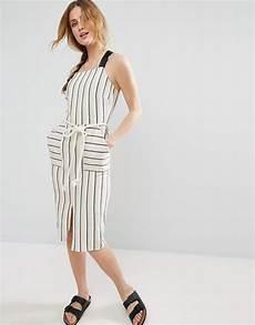asos striped sundress with rope belt meghan markle altuzarra striped popsugar fashion
