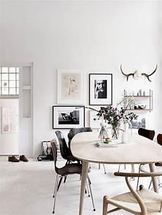 Inspirationen Wohnzimmer Skandinavischen Stil - tolles skandinavisches wohnzimmer mit schwarzen kontrasten