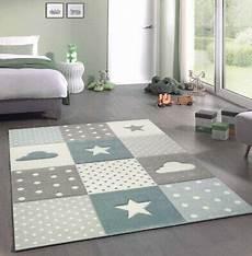 Sternen Teppich Kinderzimmer - kinderteppich junge teppich kinderzimmer mit wolke