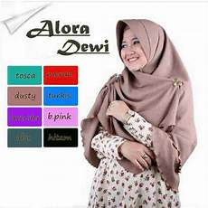Jilbab Bergo Sifon Syar I Quot Alora Dewi Quot Cantik Model