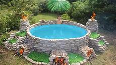build big heated swimming pool for the winter with images