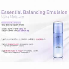 laneige essential balancing emulsion ultra moisture 120ml ebay