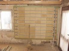 lehmbauplatten auf osb wandfl 228 chenheizung in lehmbauplatten bauhandwerk
