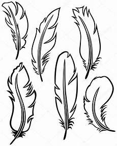 feather set stock vector 169 kreativ 11451738
