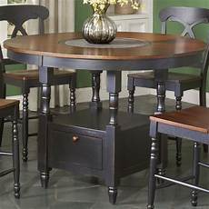 Kitchen Table With Lazy Susan by 180 Best Tables With Built In Lazy Susans Images On