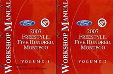 online auto repair manual 2007 ford five hundred seat position control 2007 ford freestyle five hundred mercury montego factory shop service manual set factory