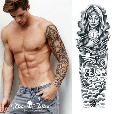Beckham Angel Tattoo