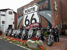 Rt 66 Guided Motorcycle Tour Route 66 Chicago To La