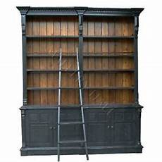 Bookshelves With Ladder For Sale