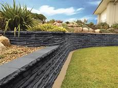 beton gartenmauer streichen garden ideas with retaining wall realestate au