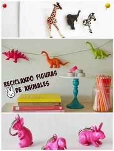 manualidades de reciclaje con figuras de animales regalo y