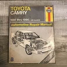 what is the best auto repair manual 1992 mercedes benz 500sl lane departure warning haynes toyota camry 1992 thru 1995 automotive repair