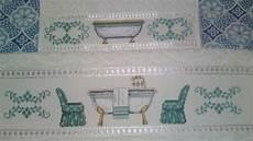 punto croce asciugamani bagno coppia asciugamani bagno antico a punto croce