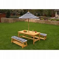 table et banc en bois pour exterieur table d ext 233 rieur pour enfant avec ses deux bancs et