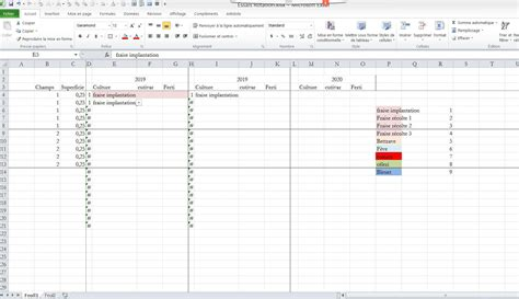 Excel Format Conditionnel