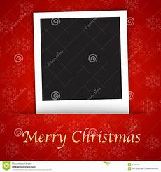 merry christmas card template with blank photo fra stock vector illustration of paper memo