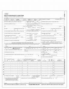 16 printable health insurance claim form 1500 instructions templates fillable sles in pdf