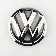 vw emblem chrome oem front grille badge jetta mk6 sedan