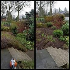 Garten Mit Rindenmulch Gestalten - gartenbeet neu gestalten schnitt rindemulch co beet