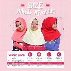 Afrakids Jilbab Anak jual jilbab anak afrakids untuk usia 2 14 thn di lapak