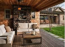 Fernseher Draußen Garten - brennholz lagern 50 ideen f 252 r stauraum