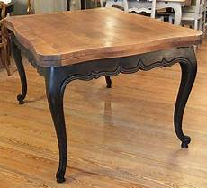 table louis xv patin 233 e noir bois naturel meuble