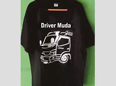 Jual Kaos Murah Kualitas Super Driver Muda Penggemar Truck