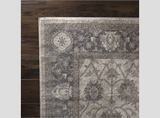 PLYH Vintage Gray/Beige Area Rug   Wayfair