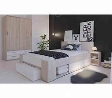lit avec rangement en bois 140x190 200 ch 234 ne bross 233 et