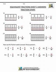 fraction worksheets and answers 3837 equivalent fractions worksheet