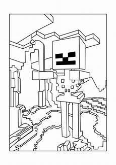 minecraft free to color for children minecraft