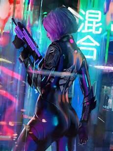 Neon Retro Cyberpunk Wallpaper by Wallpaper Artwork Digital Tony Skeor